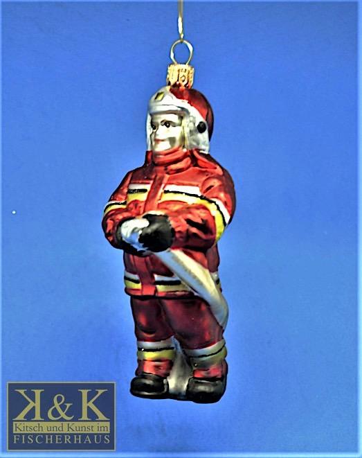 Feuerwehrmann rot