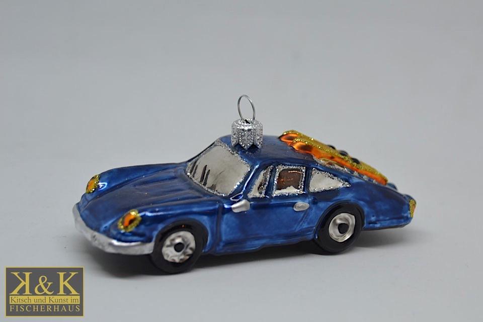 Deutscher Sportwagen blau