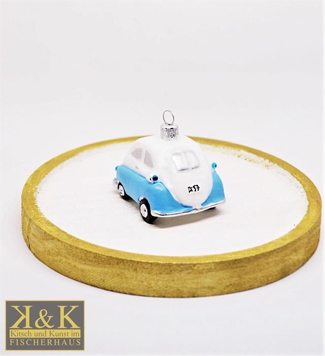 Kleinwagen hellblau