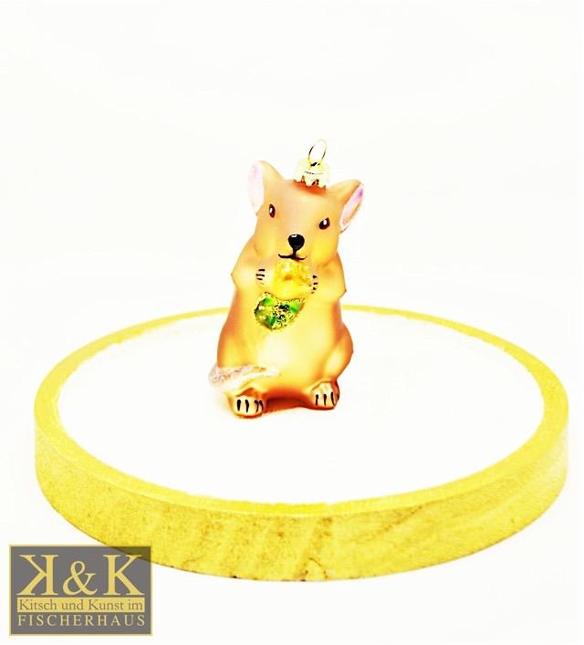 Maus goldbraun