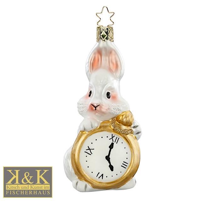 Benny Bunny mit Uhr