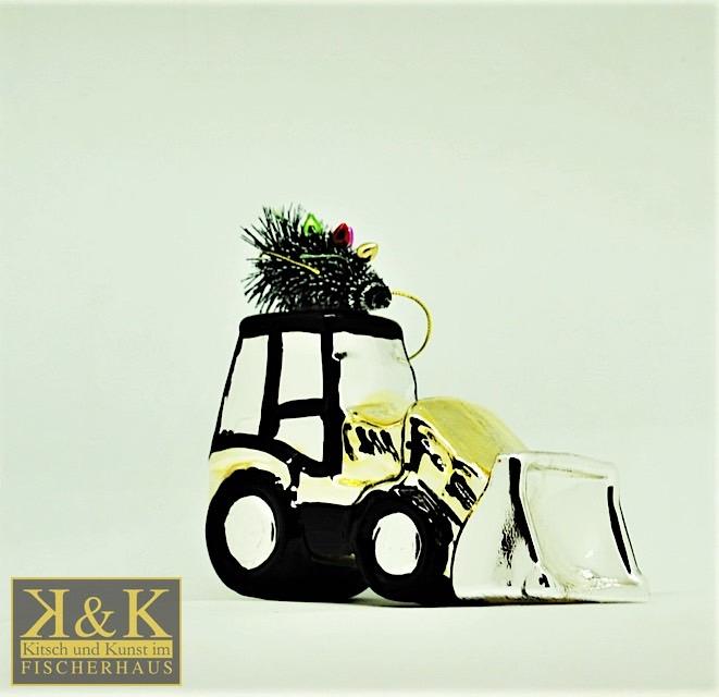 Traktor gold-silber
