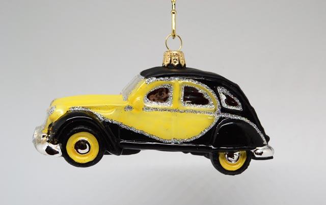 Auto 2CV Ente Charleston gelb