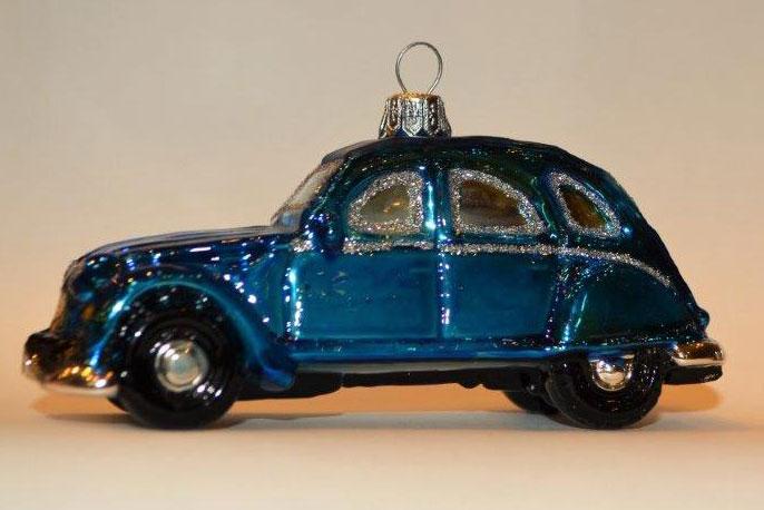 Auto 2CV Ente Blau