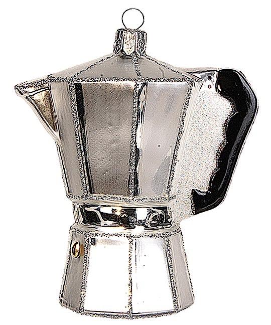 Italienische Espressomaschine Silber