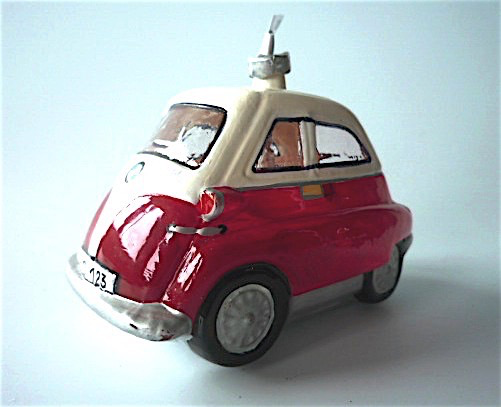 Isetta Rollermobil Rot