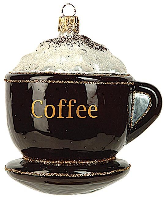 Kaffeetasse Dunkelbraun