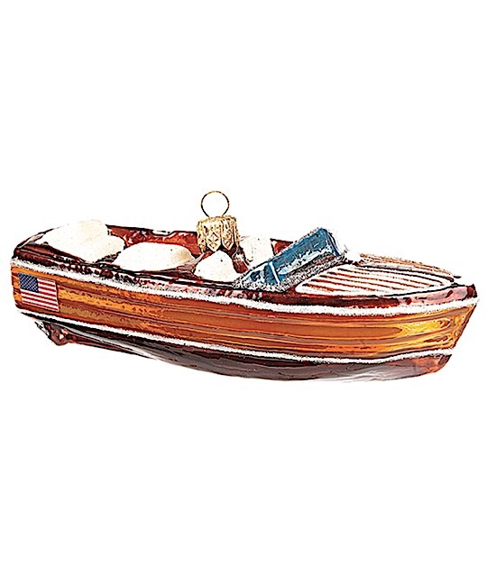 Motorboot Mahagoni