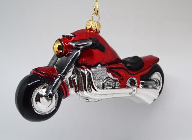 Motorrad Chopper Rot