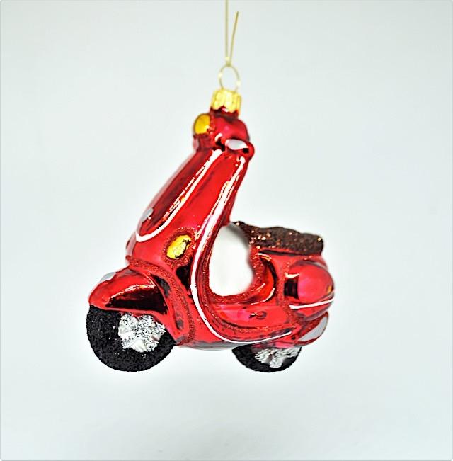 Motorroller Rot
