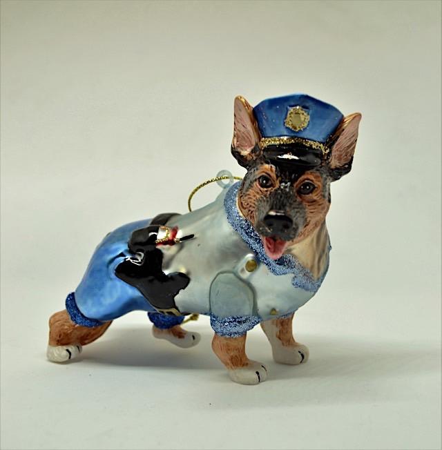 Schäferhund Polizei