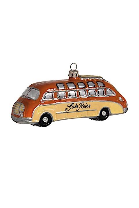 Reisebus Nostalgie Orange-Beige