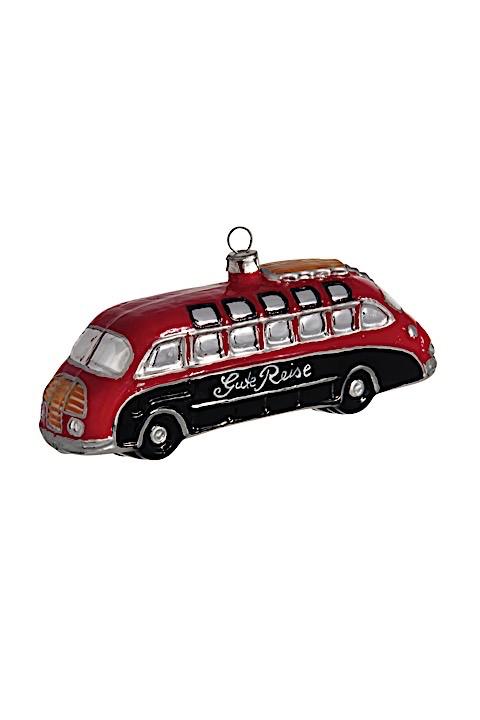 Reisebus Nostalgie Rot-Schwarz