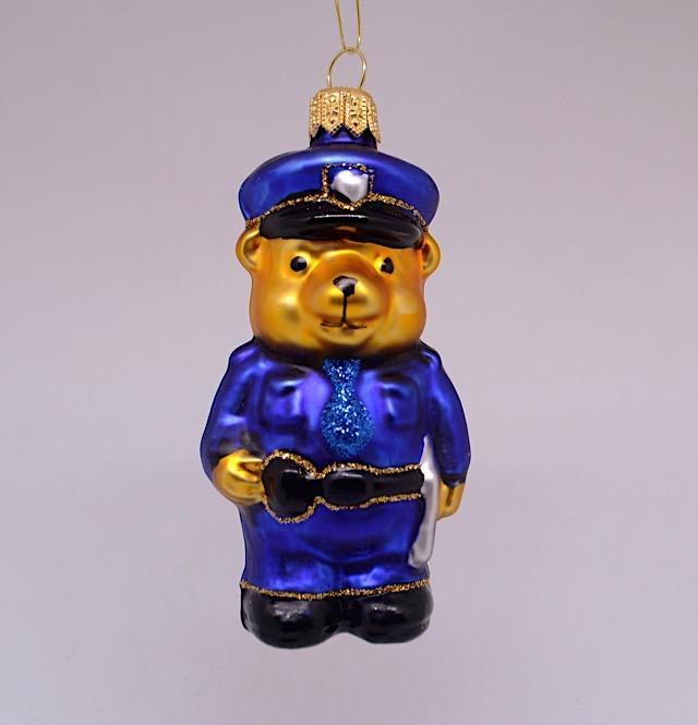 Teddybär Polizist