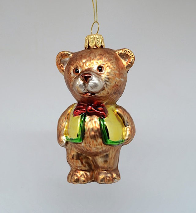 Teddybär mit Weste